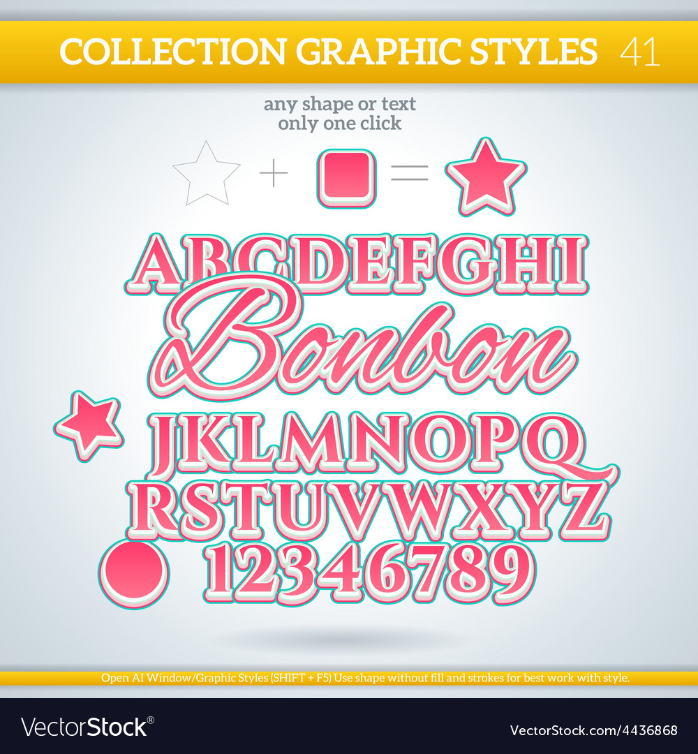 Bonbon graphic styles for design use for decor vector | Price: 1 Credit (USD $1)