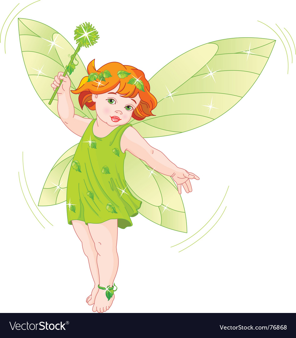 Summer baby fairy vector | Price: 3 Credit (USD $3)
