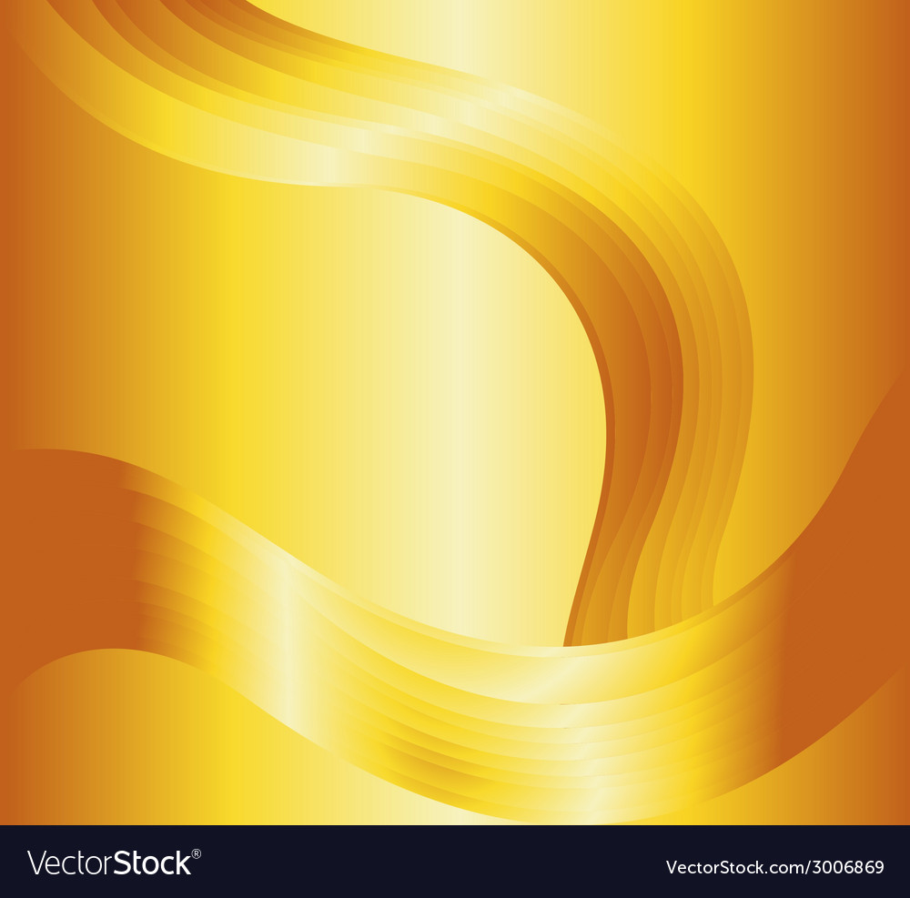 Liquid gold background vector | Price: 1 Credit (USD $1)