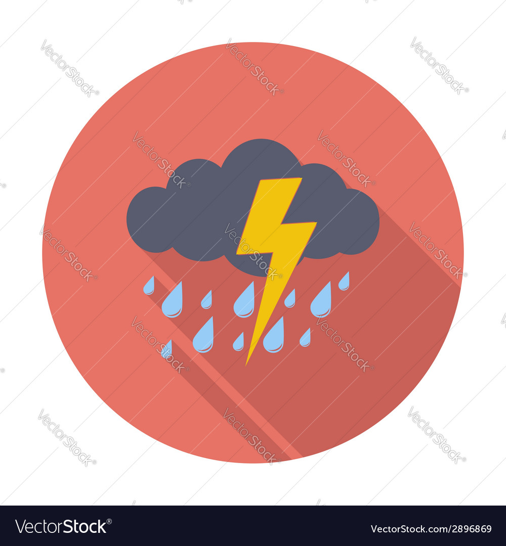 Storm icon vector | Price: 1 Credit (USD $1)
