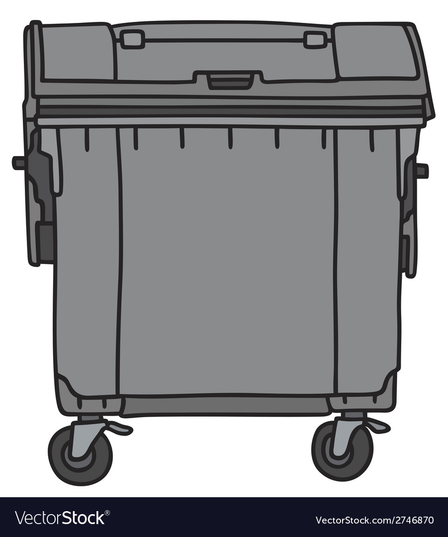 Waste container vector | Price: 1 Credit (USD $1)