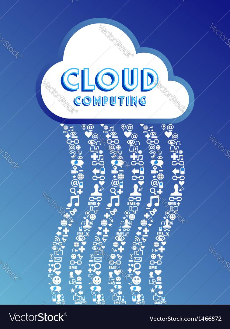 Cloud computing concept vector   Price: 1 Credit (USD $1)
