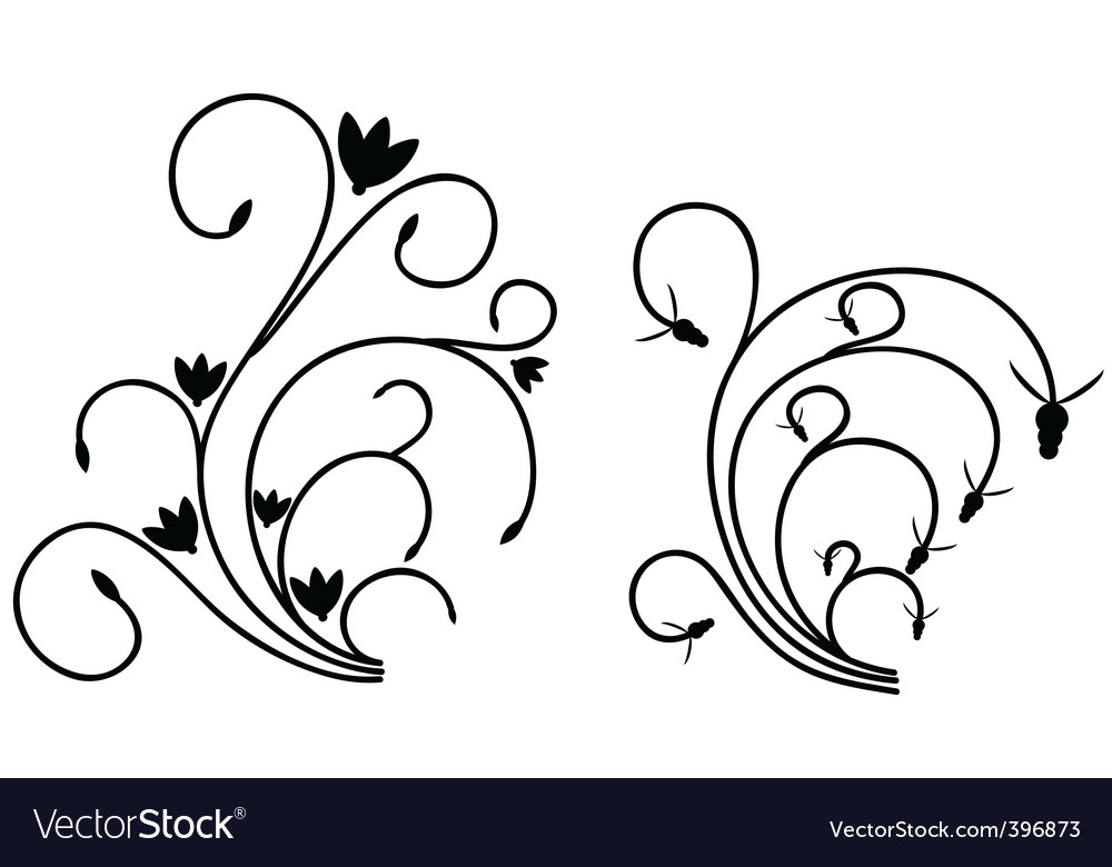 Flourishes vector | Price: 1 Credit (USD $1)