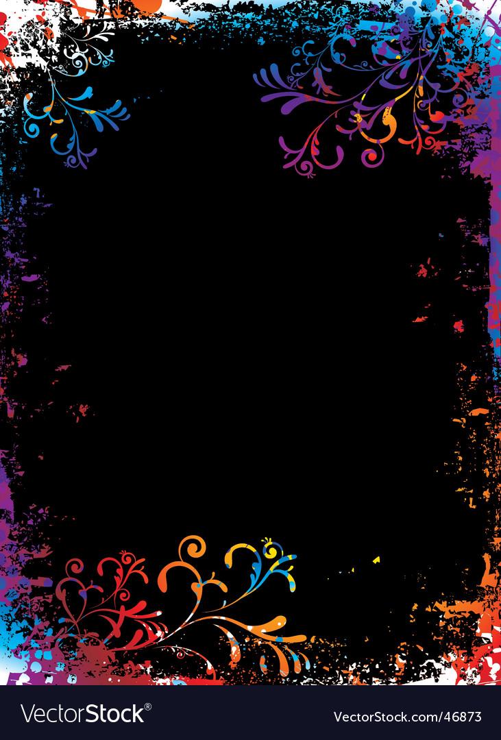 Grunge rainbow background vector   Price: 1 Credit (USD $1)