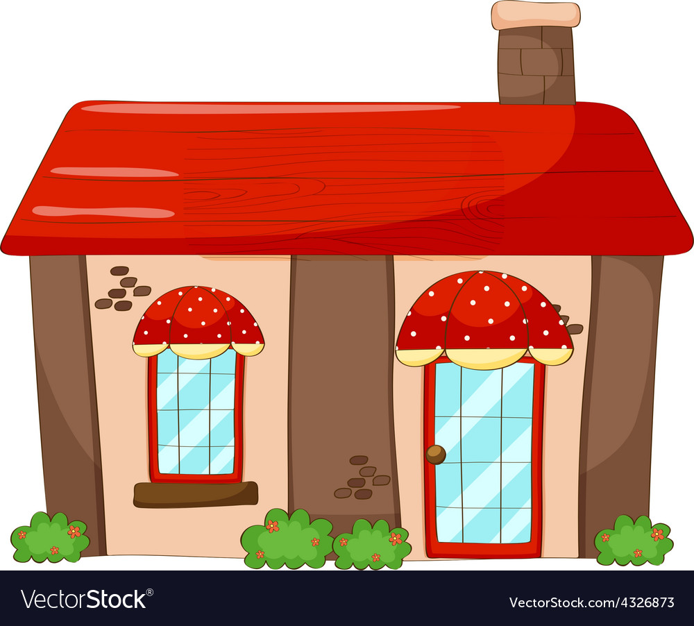 Single house vector | Price: 1 Credit (USD $1)