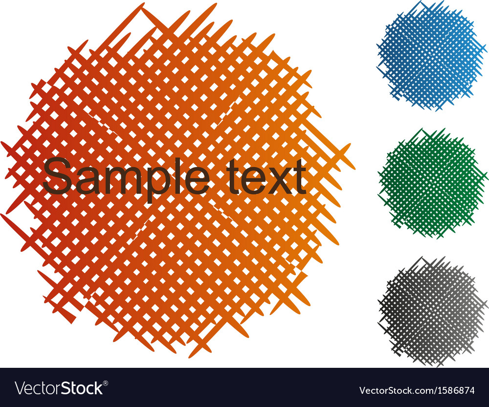 Cross shading abstract vector | Price: 1 Credit (USD $1)
