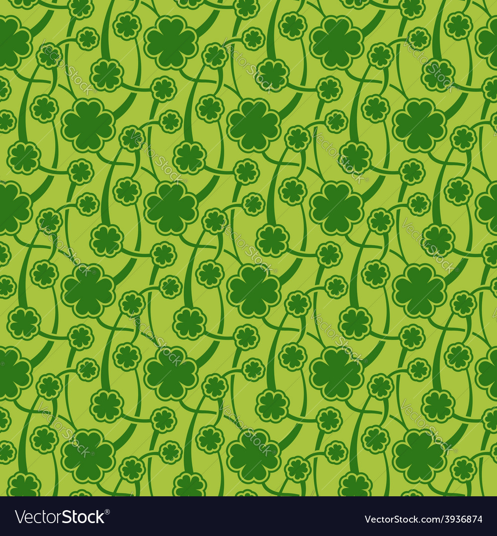 St patrick day seamless pattern vector | Price: 1 Credit (USD $1)