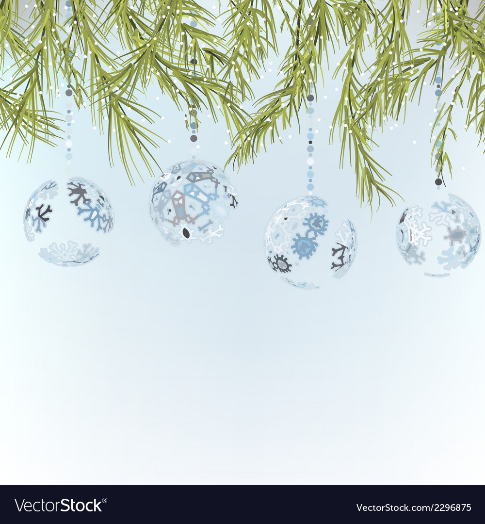 Christmas background template  eps8 vector | Price: 1 Credit (USD $1)