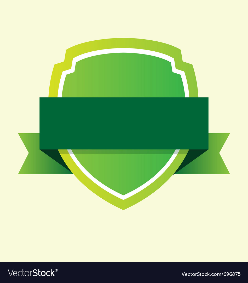 Green ribbon vector | Price: 1 Credit (USD $1)