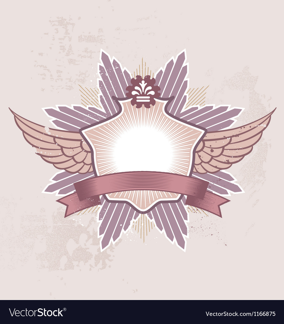 Shield badge vector | Price: 1 Credit (USD $1)