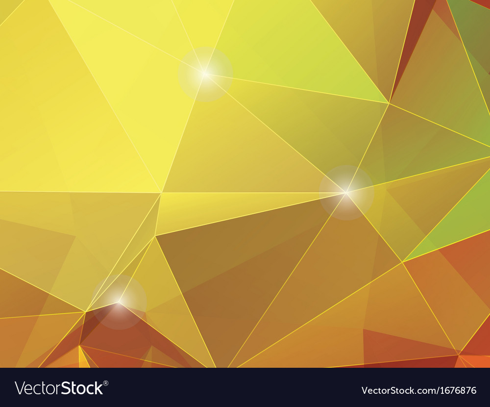 Abstract autumnt polygon mosaic background vector   Price: 1 Credit (USD $1)