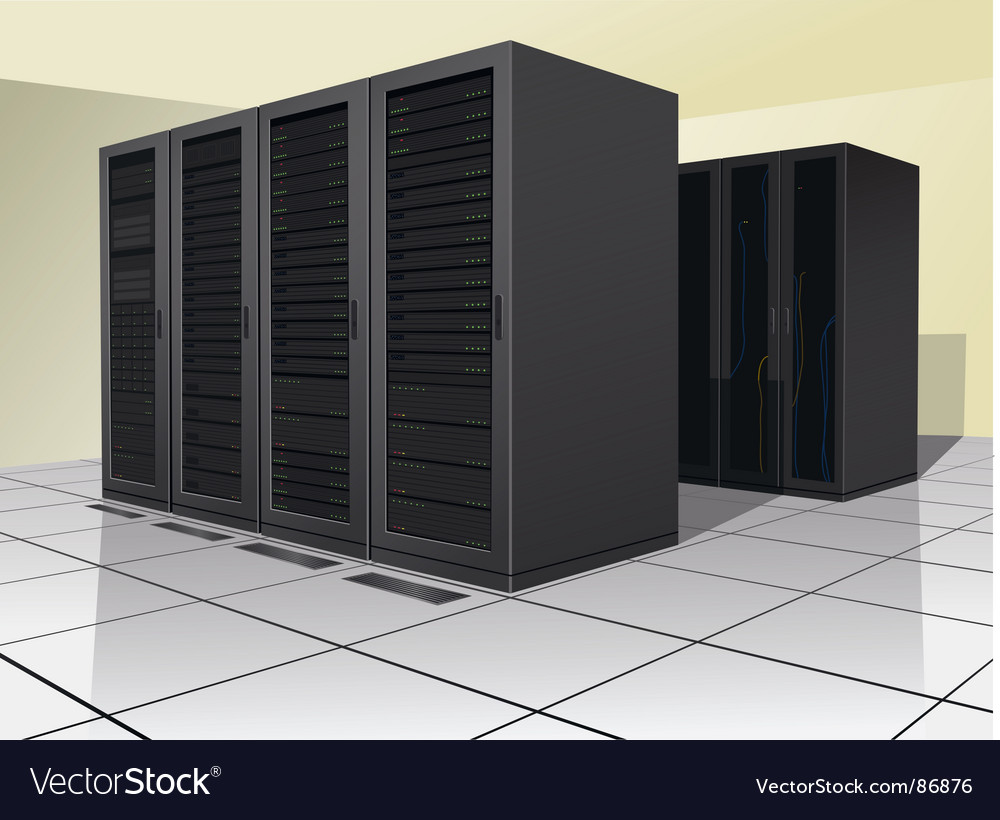 Data center vector | Price: 3 Credit (USD $3)