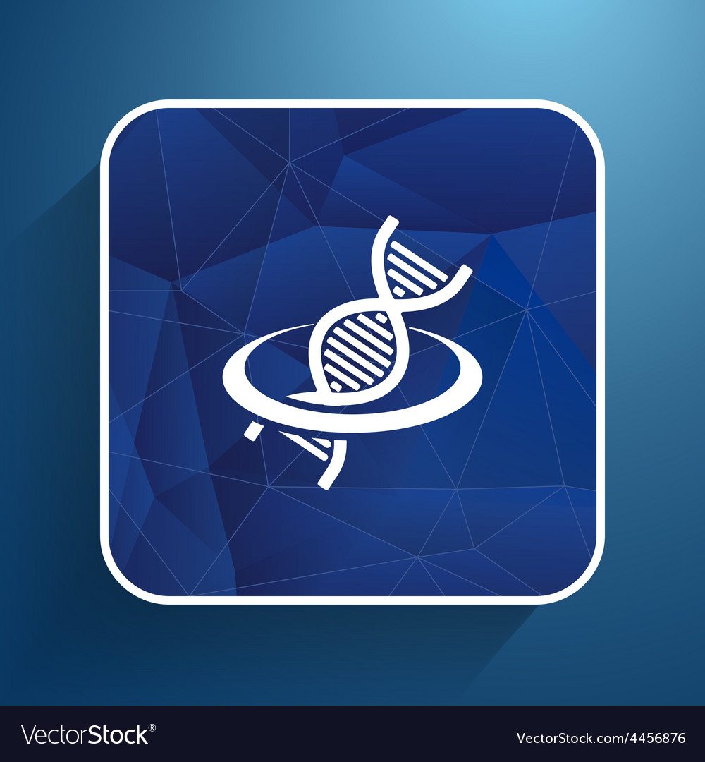 Dna icon life strand symbol curve graphic genetic vector | Price: 1 Credit (USD $1)