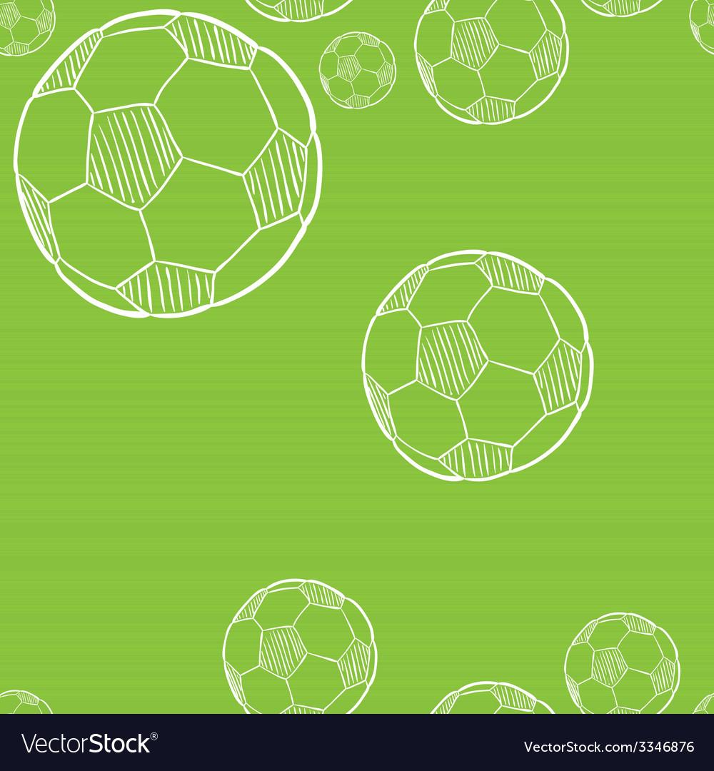 Sketch of the football ball vector