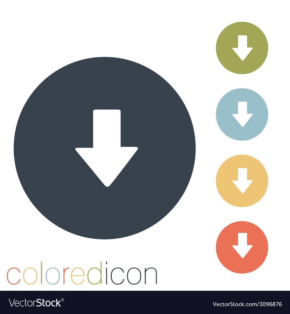 Web arrow vector | Price: 1 Credit (USD $1)