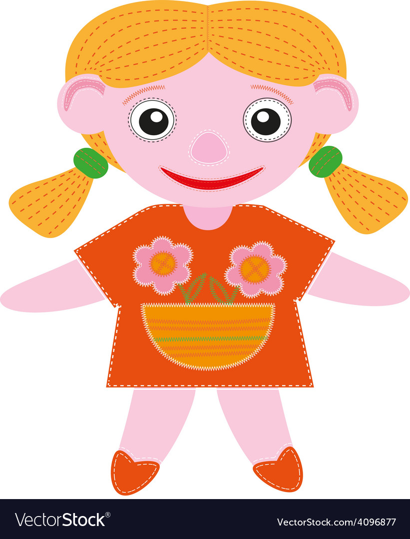 Baby doll vector | Price: 1 Credit (USD $1)