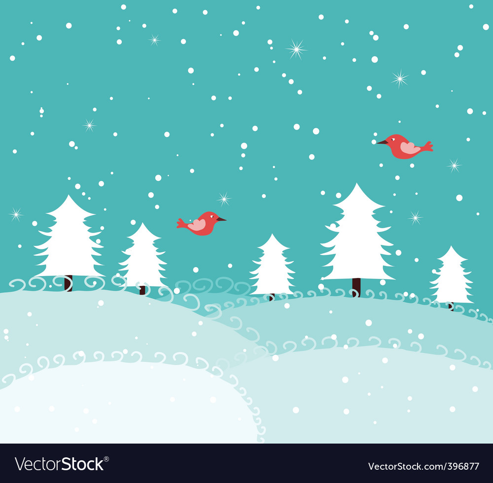 Xmas snow vector | Price: 1 Credit (USD $1)
