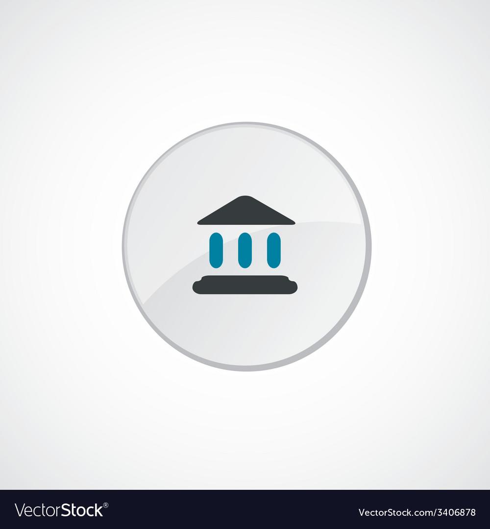 Court law icon 2 colored vector | Price: 1 Credit (USD $1)