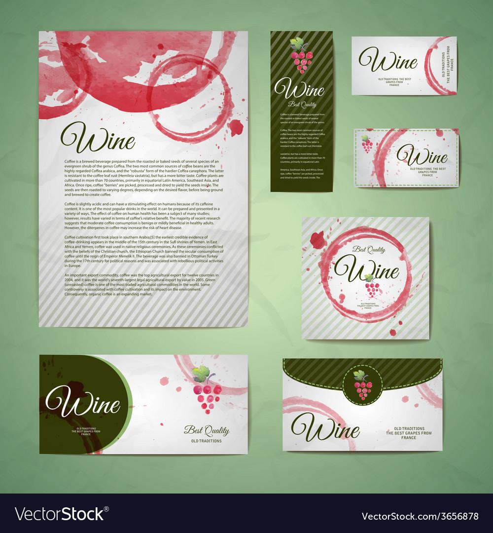 Grapes or wine concept design vector | Price: 1 Credit (USD $1)