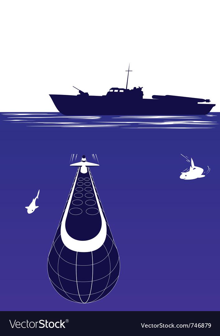 Anti-submarine ship vector   Price: 1 Credit (USD $1)