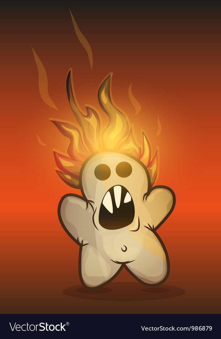 Burned cookie rebellion vector | Price: 3 Credit (USD $3)