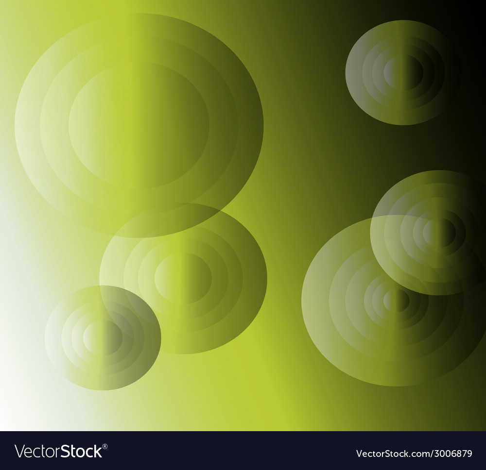 Light effects circle green background vector | Price: 1 Credit (USD $1)