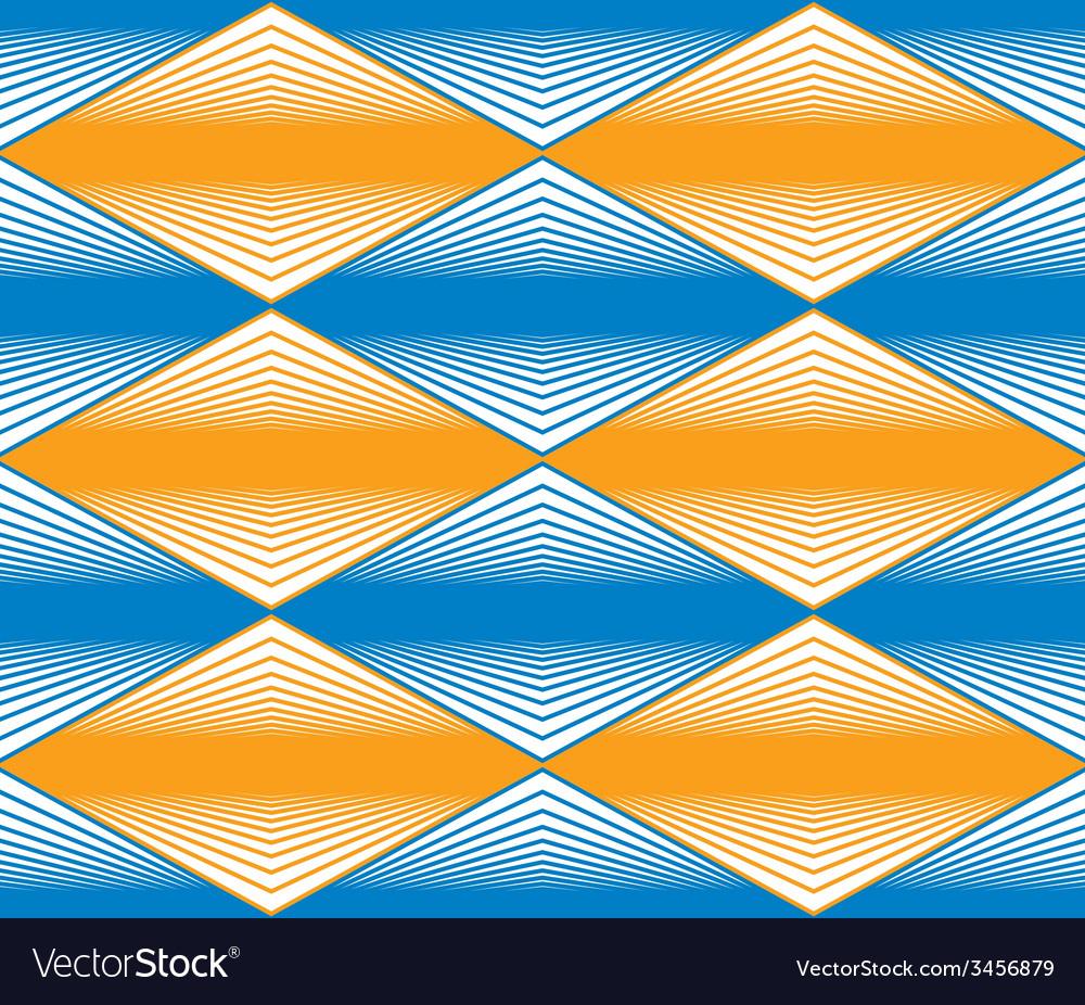 Seamless rhombus pattern abstract geometric vector | Price: 1 Credit (USD $1)