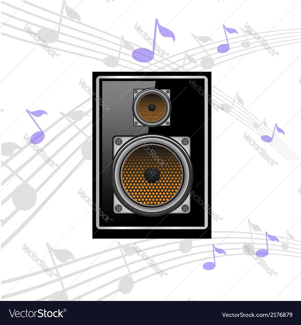 Sound speaker vector | Price: 1 Credit (USD $1)