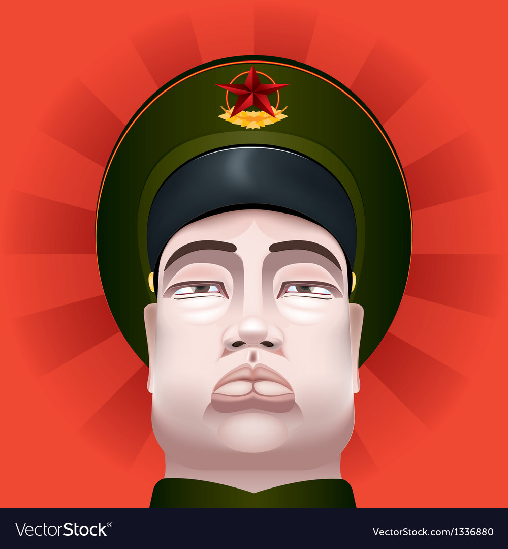 Communist soldier vector | Price: 3 Credit (USD $3)