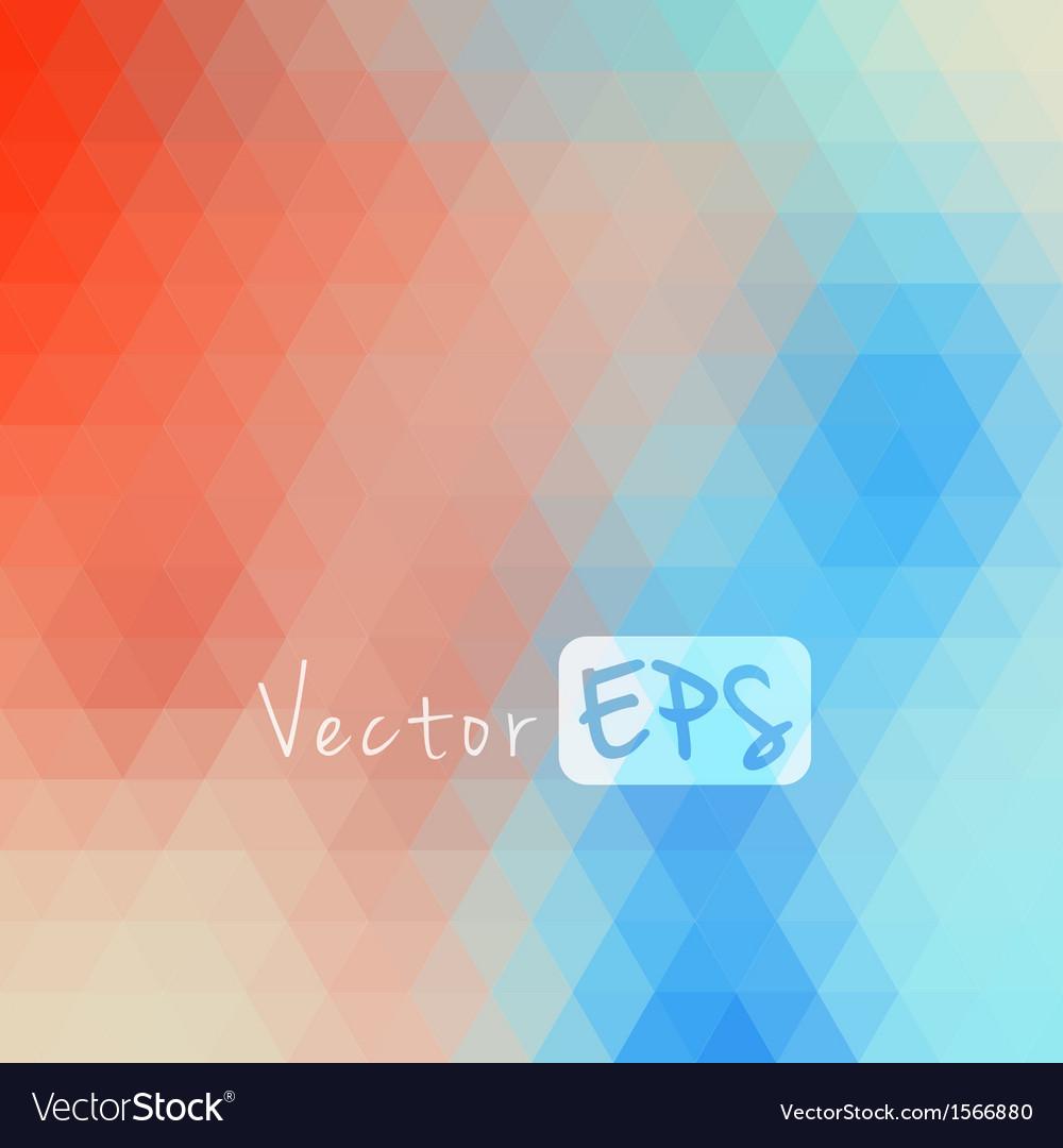 Digital hexagon pixel mosaic abstract background vector | Price: 1 Credit (USD $1)