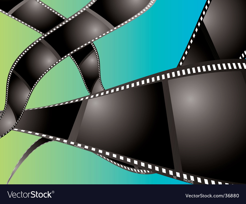Film background float vector | Price: 1 Credit (USD $1)