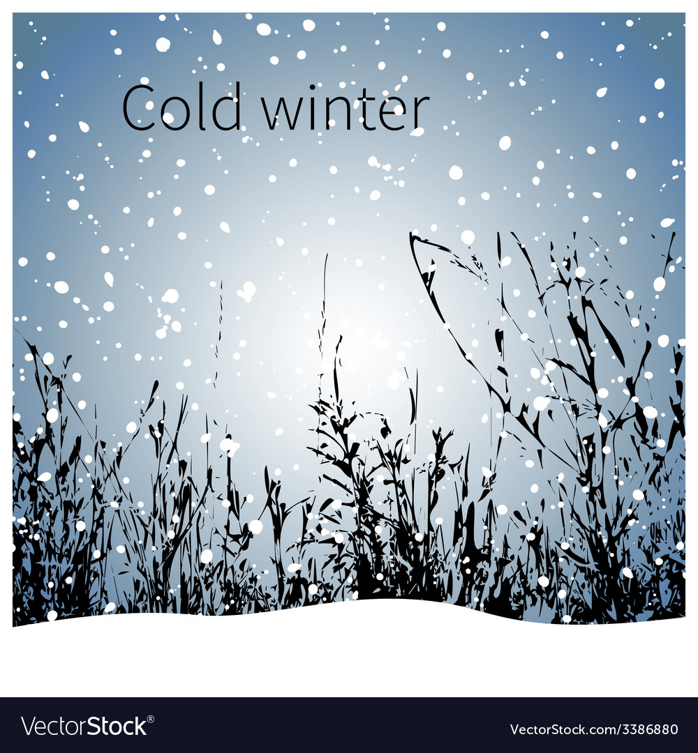 Winter vector   Price: 1 Credit (USD $1)