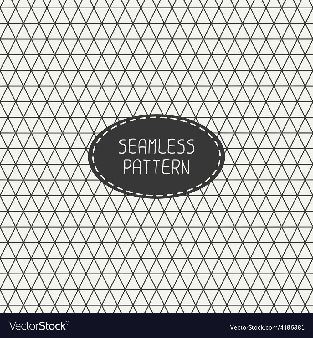 Geometric line seamless pattern with rhombus vector | Price: 1 Credit (USD $1)