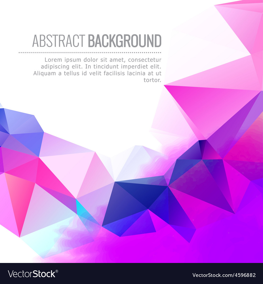 Abstract colorful design background vector | Price: 1 Credit (USD $1)
