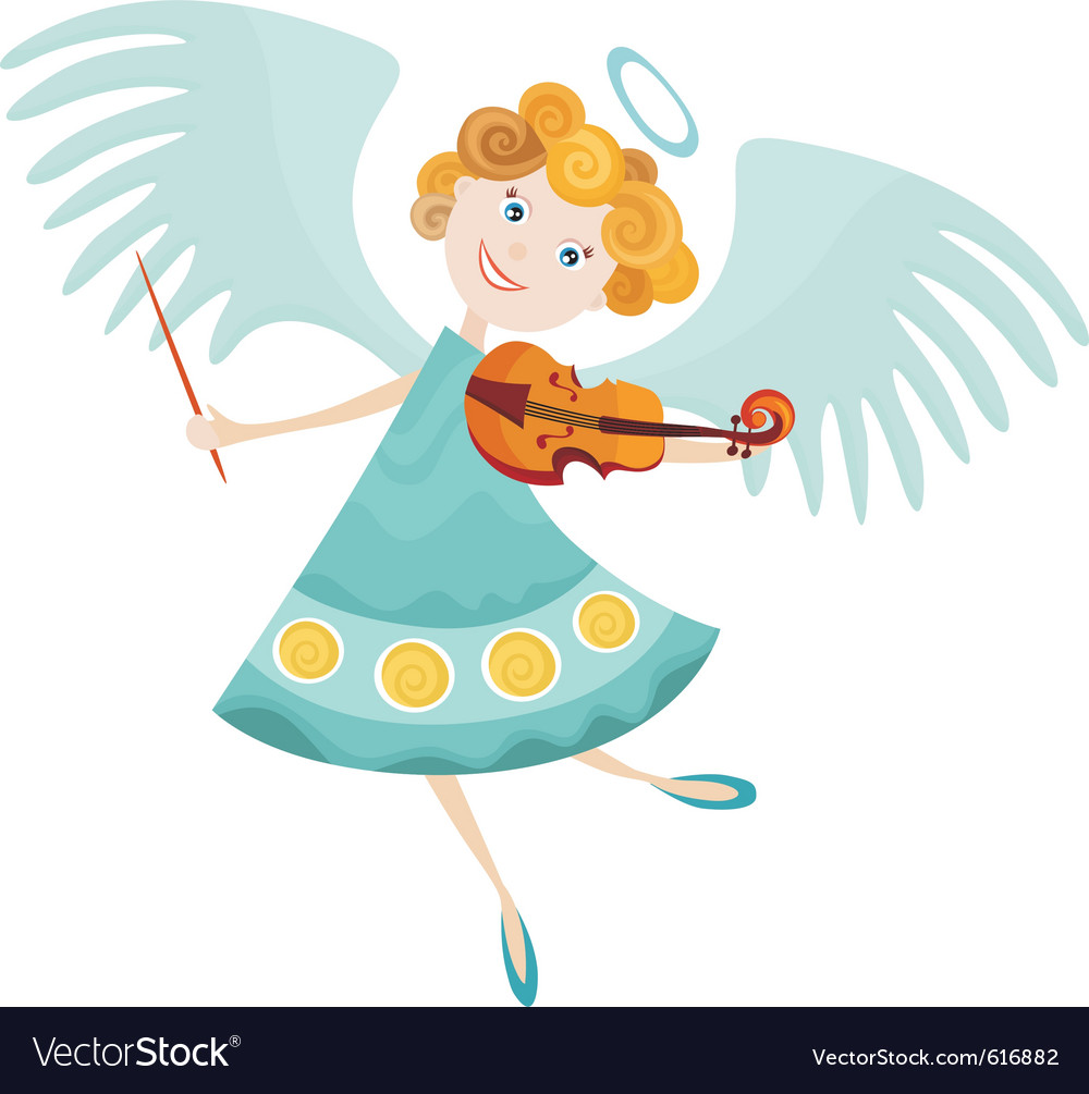 Angel cartoon vector | Price: 3 Credit (USD $3)