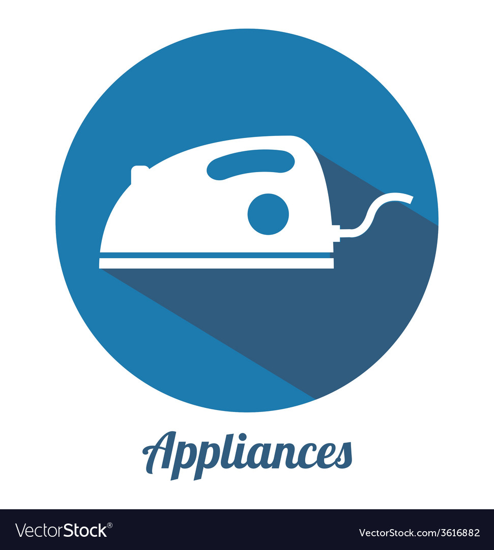 Appliance icon vector | Price: 1 Credit (USD $1)
