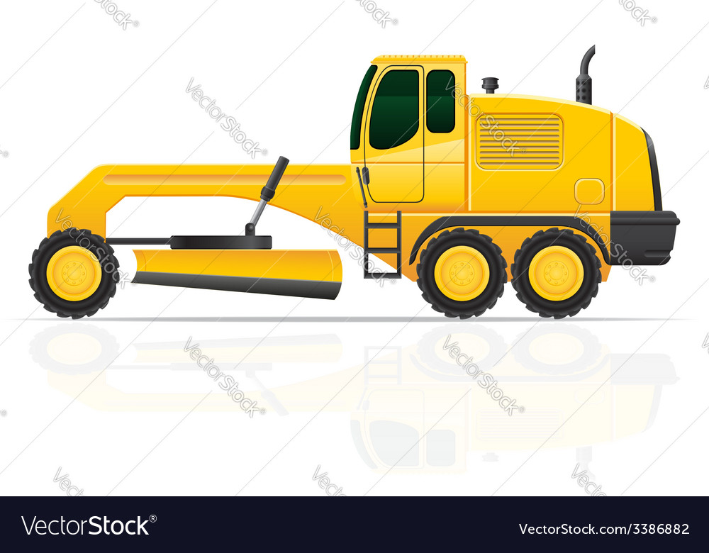 Grader vector | Price: 3 Credit (USD $3)