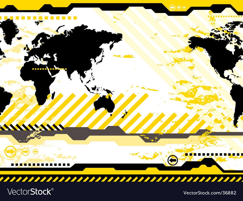 Modern world vector | Price: 1 Credit (USD $1)
