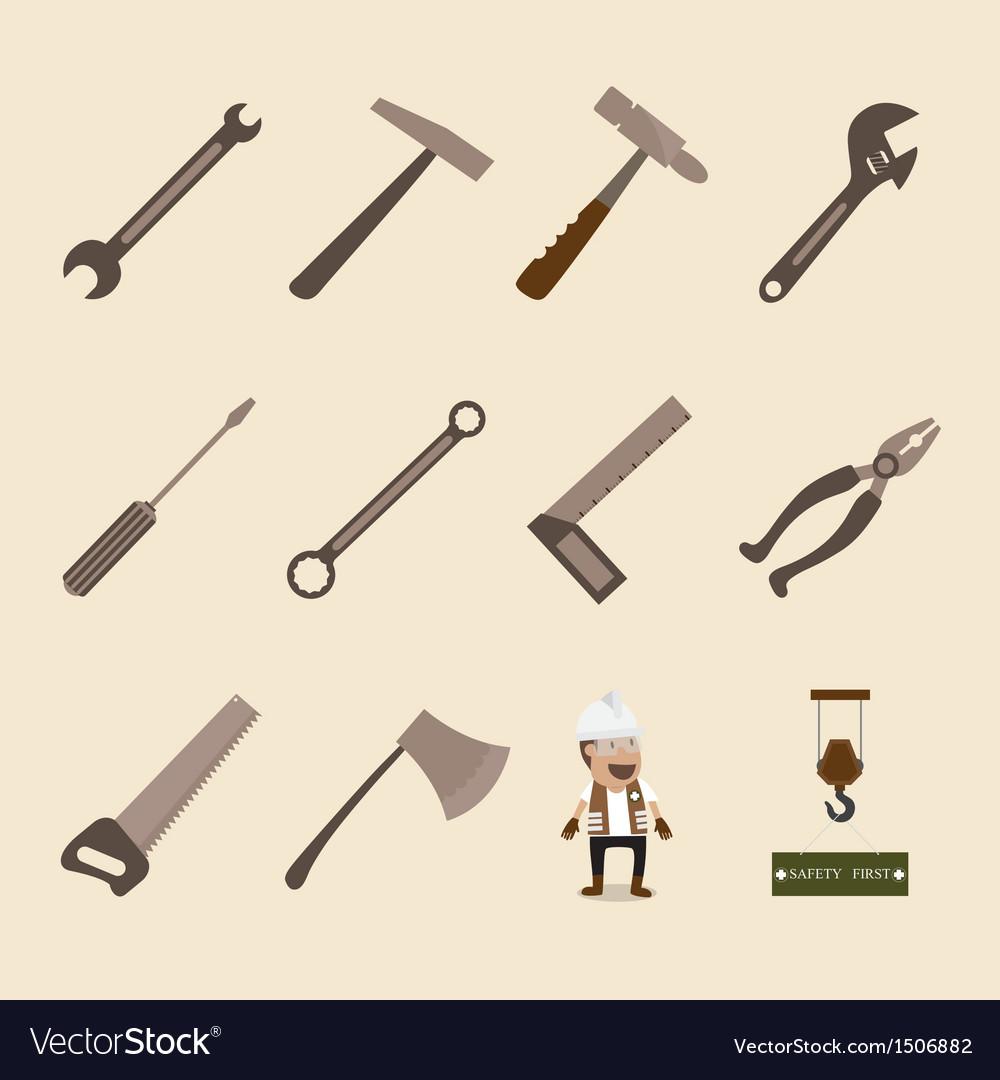 Tools vector | Price: 1 Credit (USD $1)