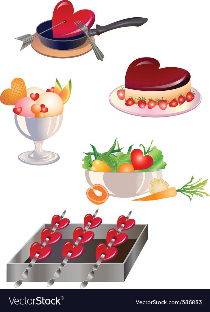 Food design elements vector   Price: 1 Credit (USD $1)
