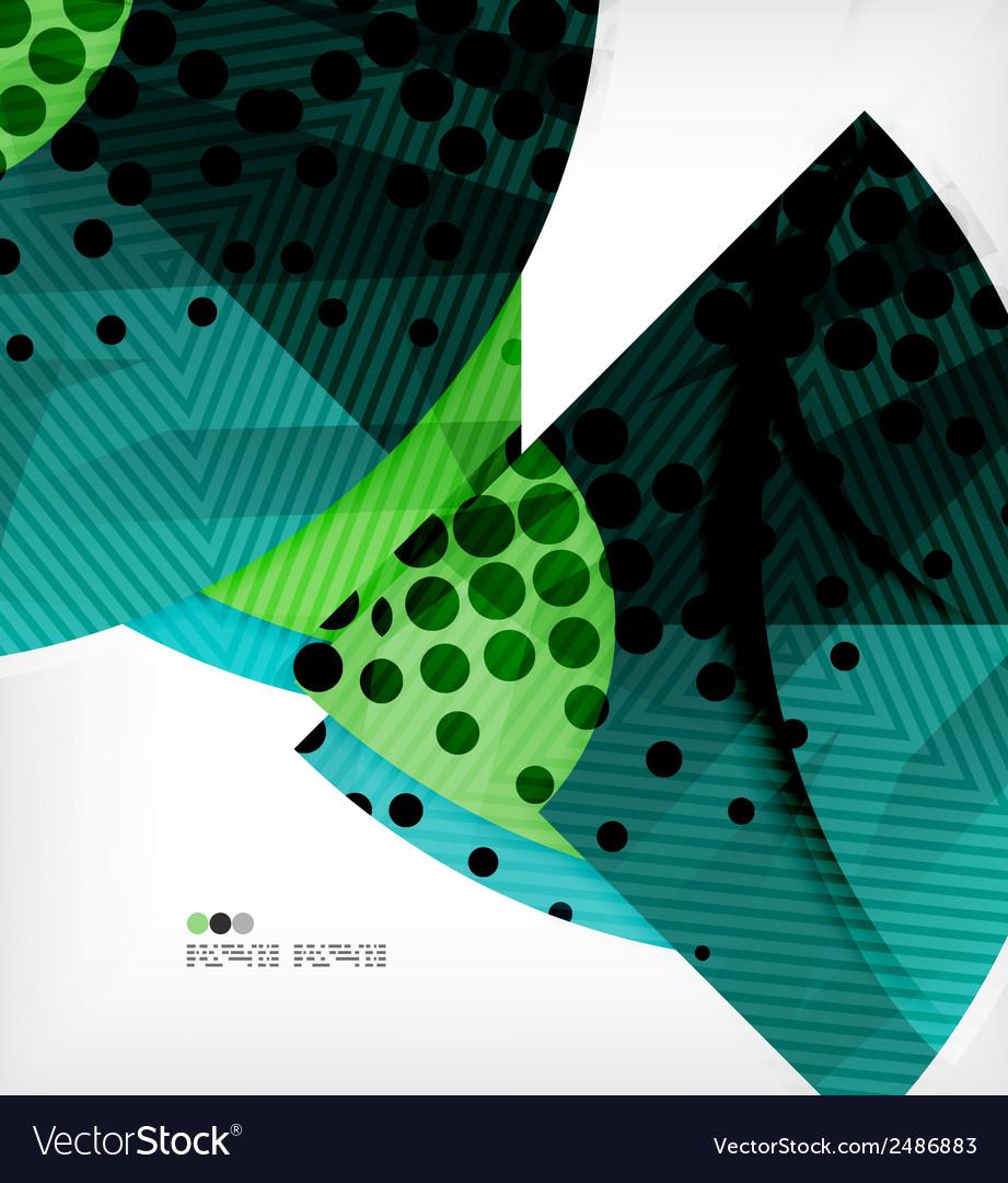 Modern futuristic techno abstract composition vector | Price: 1 Credit (USD $1)