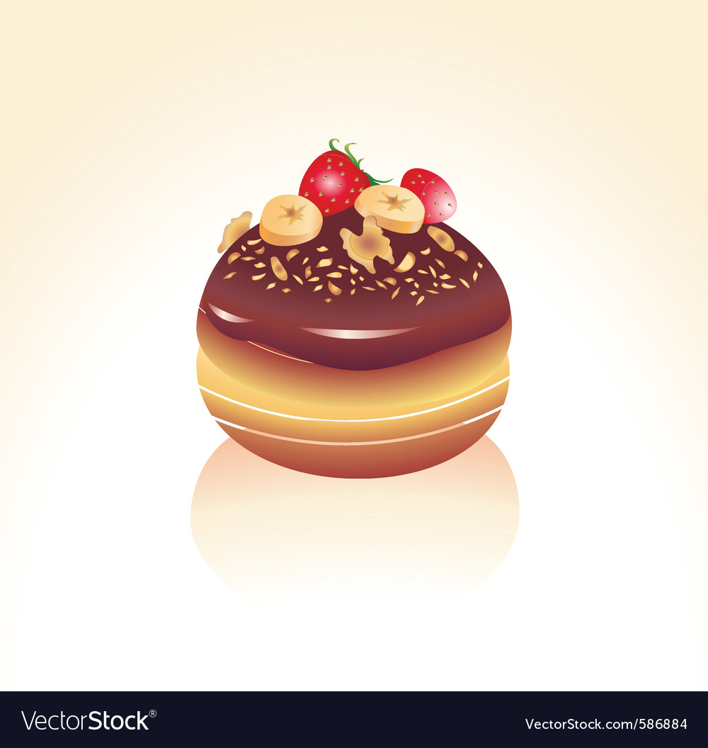 Chocolate icing vector | Price: 1 Credit (USD $1)