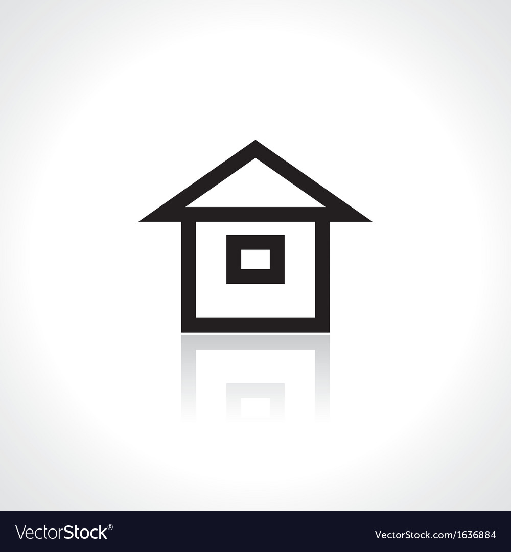 Little house vector | Price: 1 Credit (USD $1)