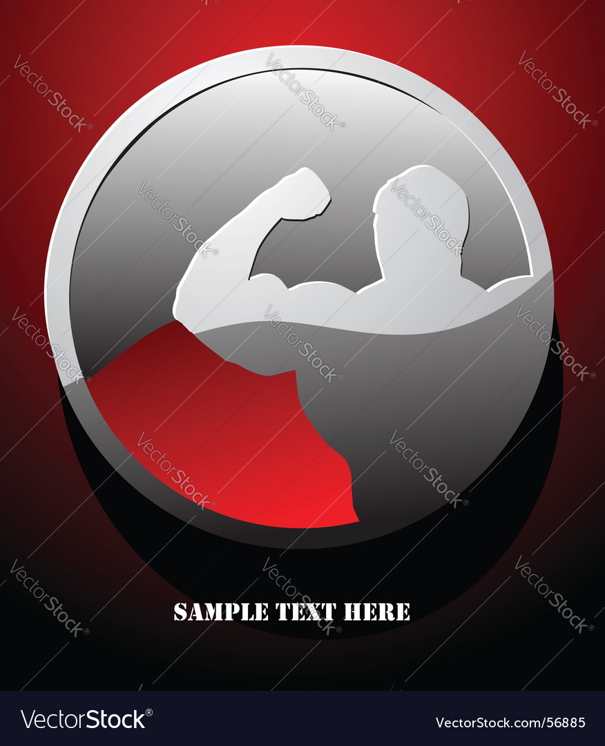 Bodybuilding vector | Price: 1 Credit (USD $1)