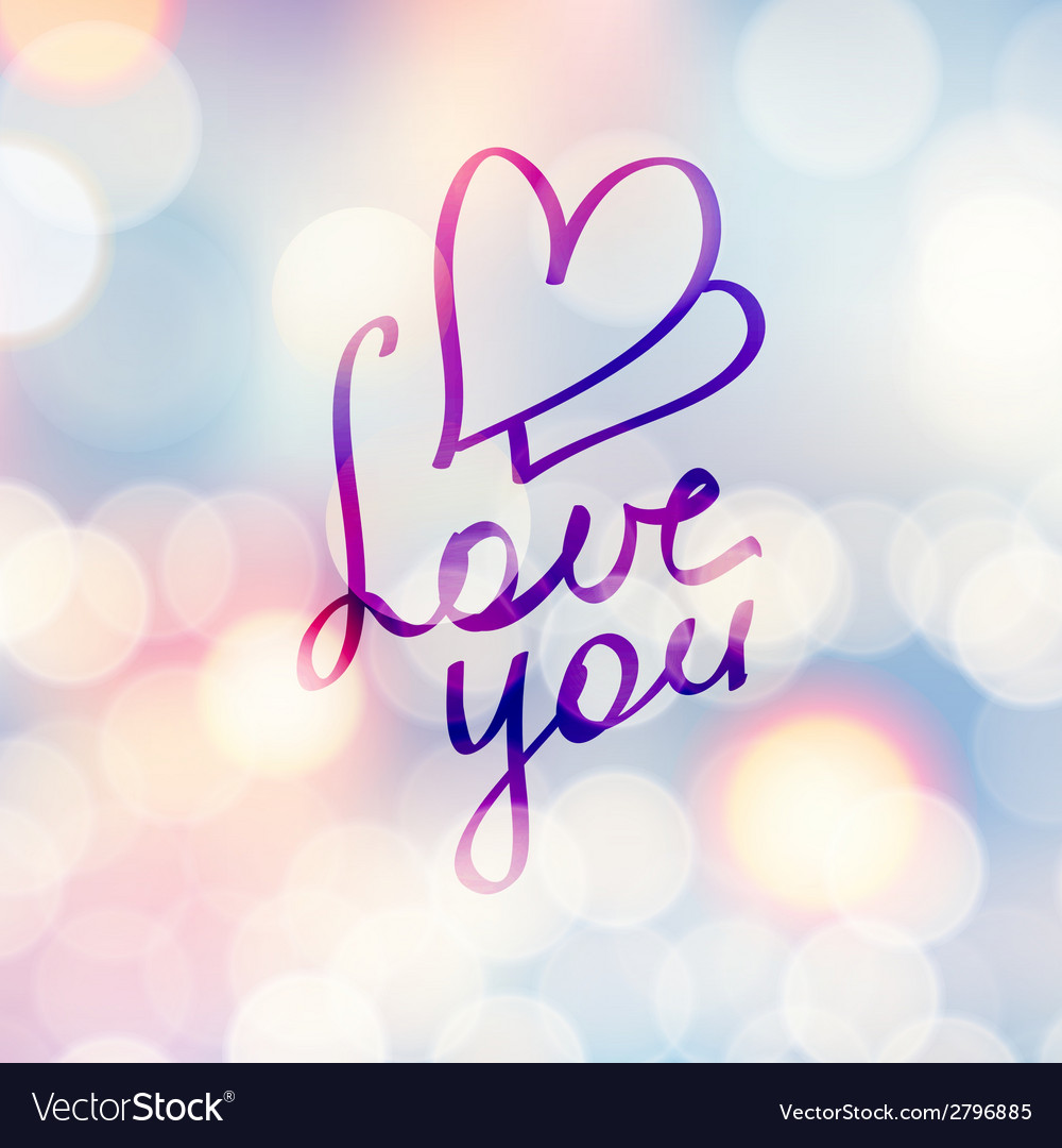 Love you vector   Price: 1 Credit (USD $1)