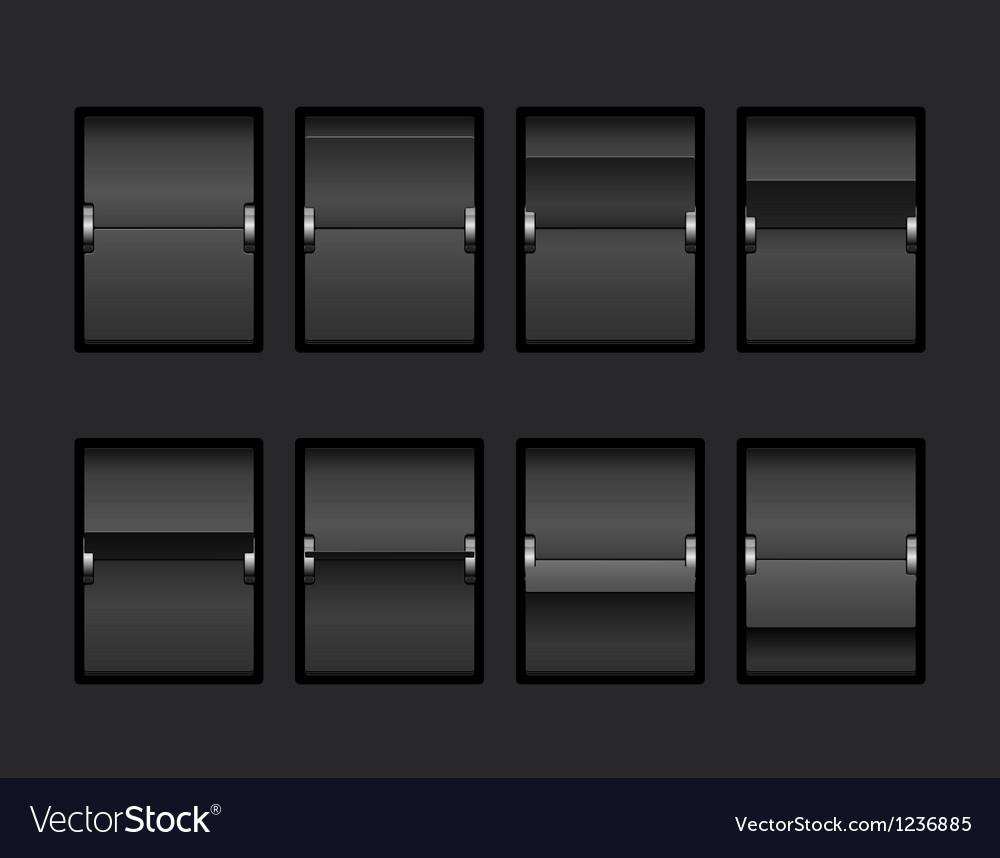 Mechanical panel change vector | Price: 3 Credit (USD $3)