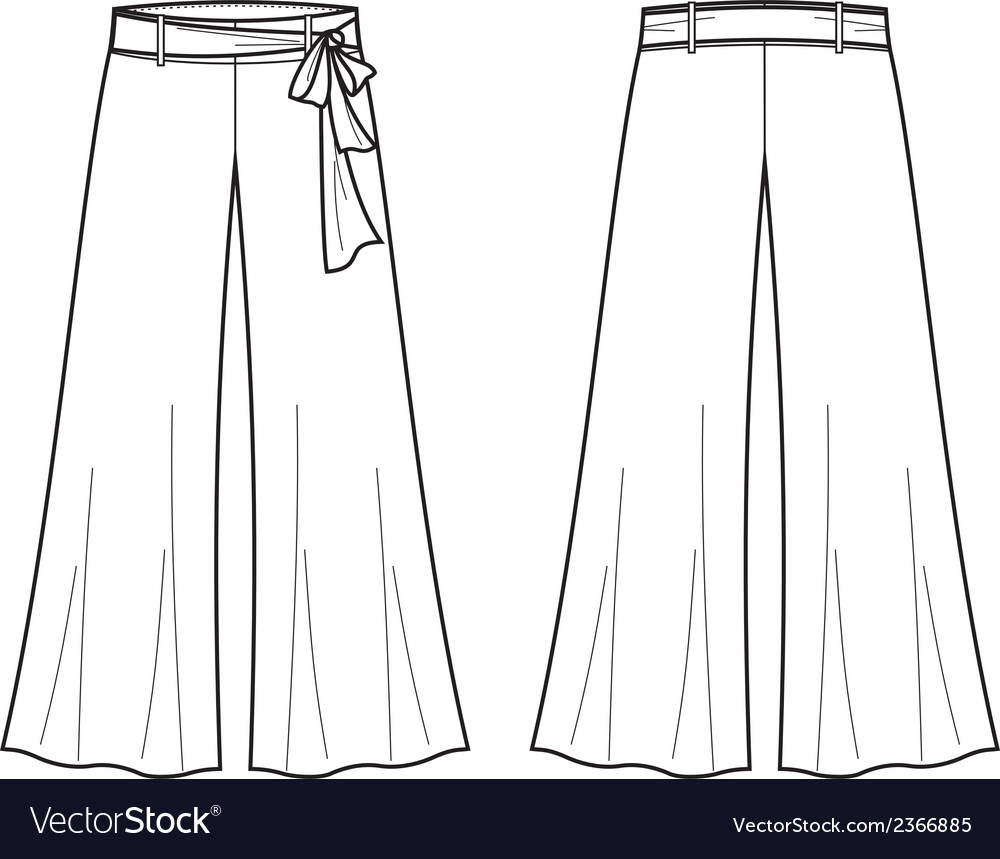 Summer pants vector | Price: 1 Credit (USD $1)