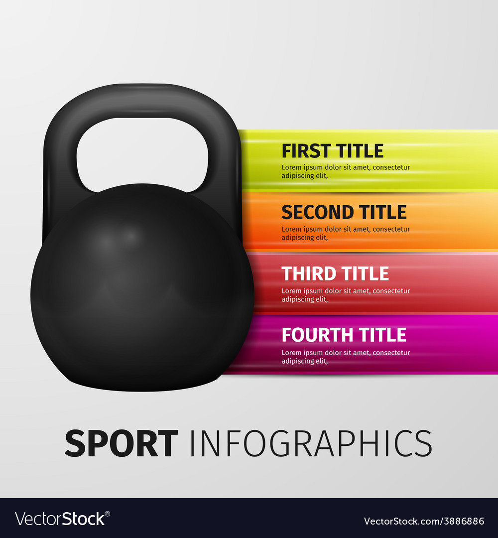 Sport infographics vector | Price: 1 Credit (USD $1)