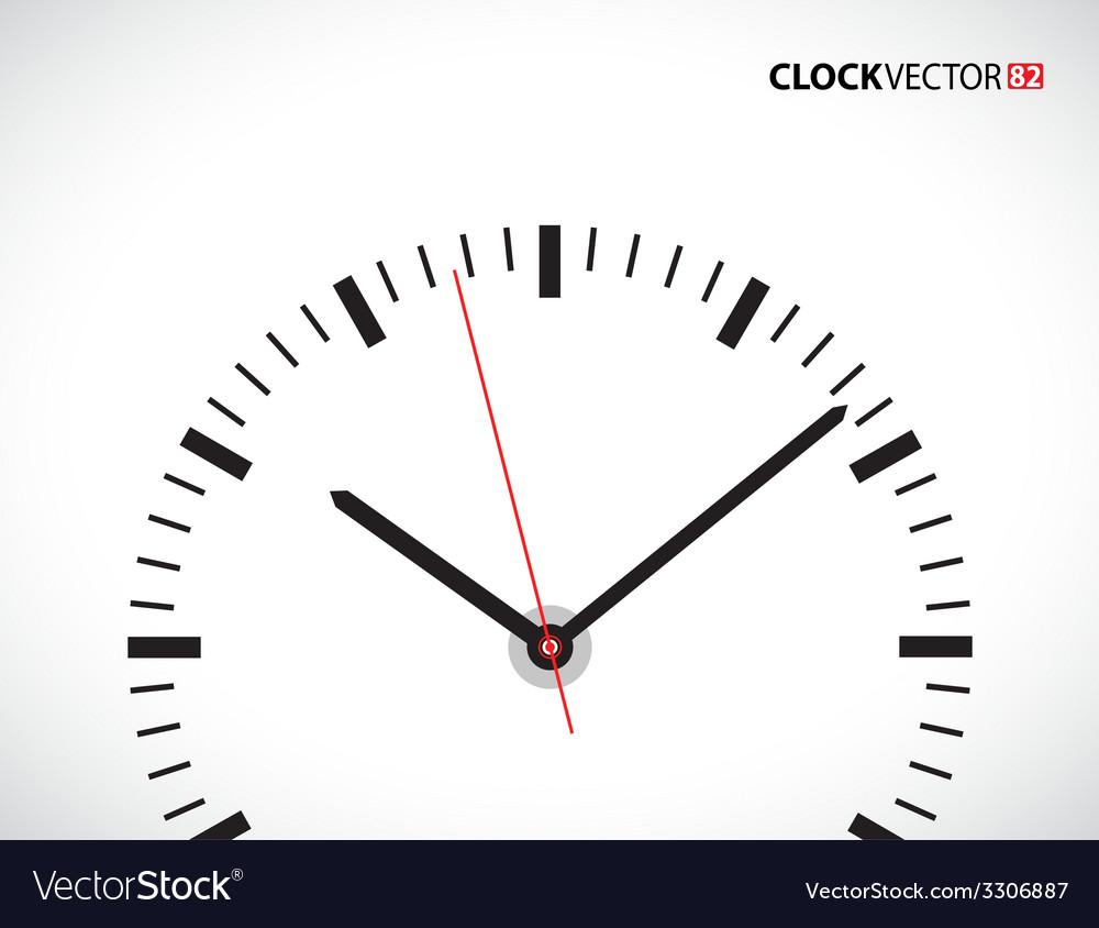 Clock face vector | Price: 1 Credit (USD $1)