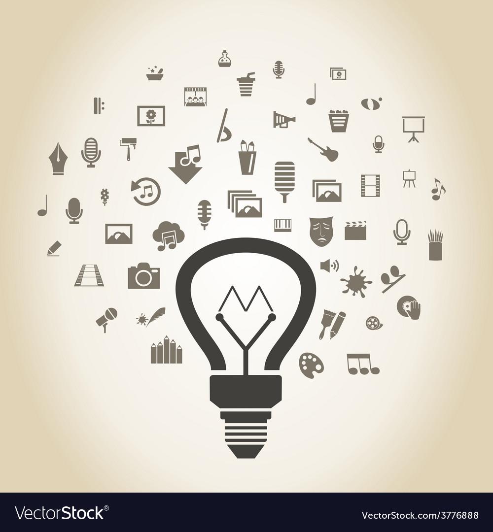 Art a bulb2 vector   Price: 1 Credit (USD $1)